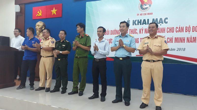 Lễ khai mạc lớp tập huấn cán bộ Đoàn Lực lượng vũ trang năm 2018